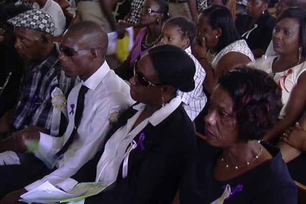 Shante Claxton laid to Rest