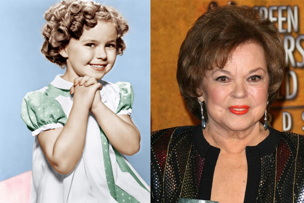 Famed former child actress Shirley Temple dies