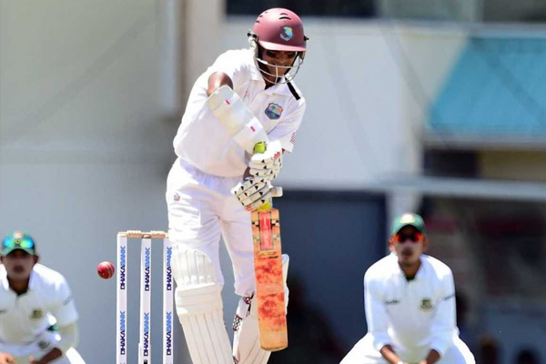 Shiv climbs to third on batting table