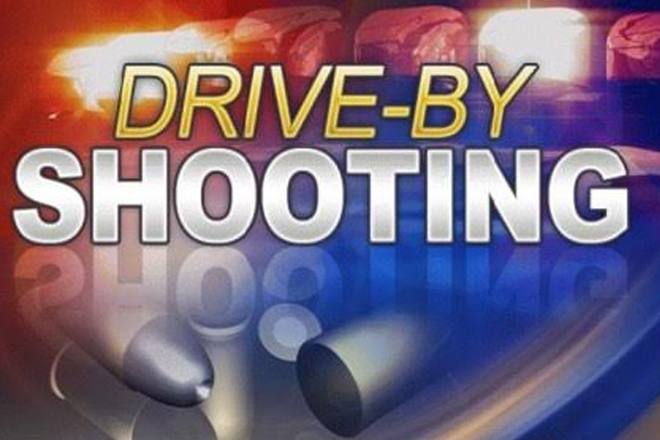 Drive by shooting on Pond Road