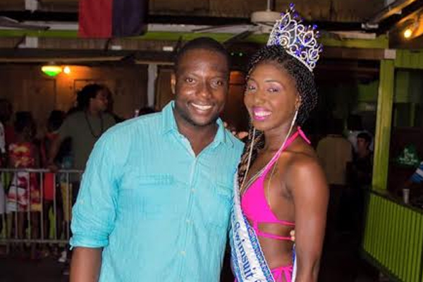 Sidama Jones wins Miss Sapphire Swimsuit Competition