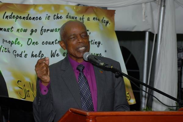 Sir Kennedy Simmonds birthday party 'memorable'