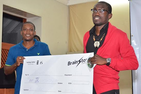 James Galloway wins inaugural Brainstorm Challenge