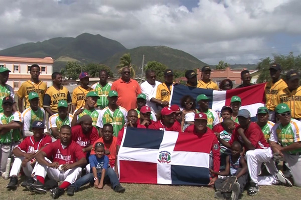 Nationals of Dominican Republic host Softball Tournament