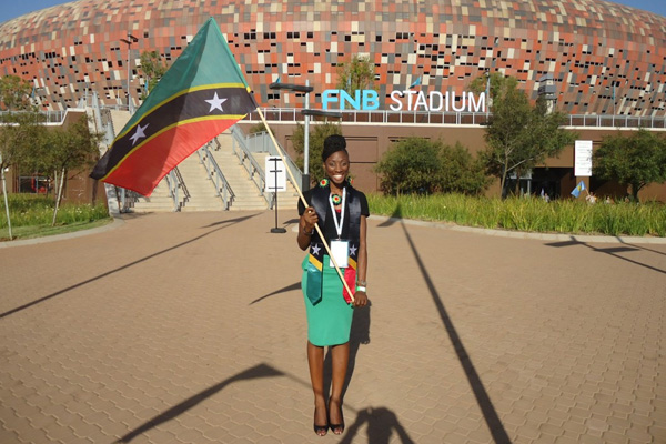One Young World Summit an Inspirational Experience says St. Kitts and Nevis delegate Sonia Boddie