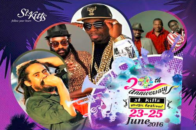 St. Kitts Music Festival Lineup Launched
