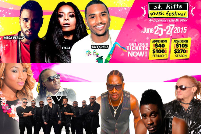 St. Kitts Music Festival Tickets on Sale