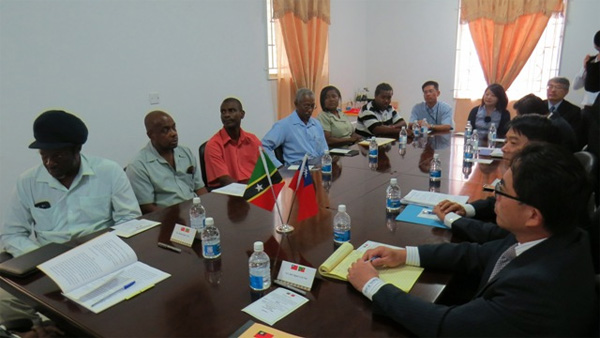St. Kitts and Nevis and Taiwan sign Memorandum of Understanding