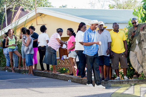 Strong Voter Turnout In And Around Basseterre