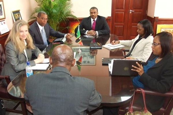 Federal and NIA Cabinets meet with IMF officials, PM Douglas says St. Kitts and Nevis will continue along path of prudent financial management