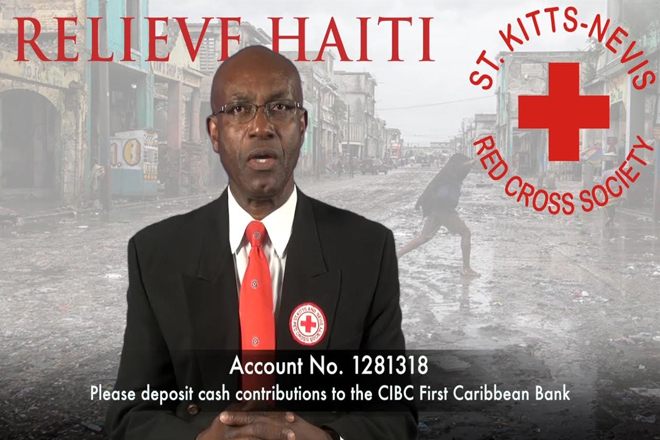 St. Kitts-Nevis Red Cross Society launches emergency response operation for Haiti