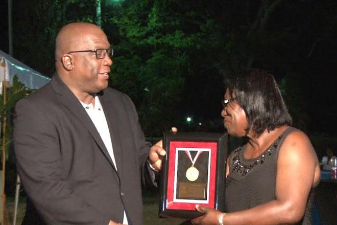 Special Olympics Award Ceremony