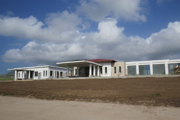 St. Kitts' new Private Jet Terminal nears completion, will generate economic activity in the local economy, says Uday Nyak