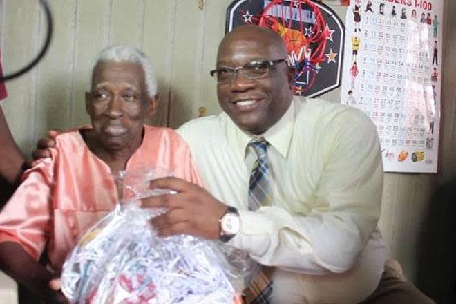 Prime Minister Harris Recognises Seniors in Constituency 7