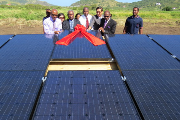 St. Kitts and Nevis hailed for giant leap in renewable energy