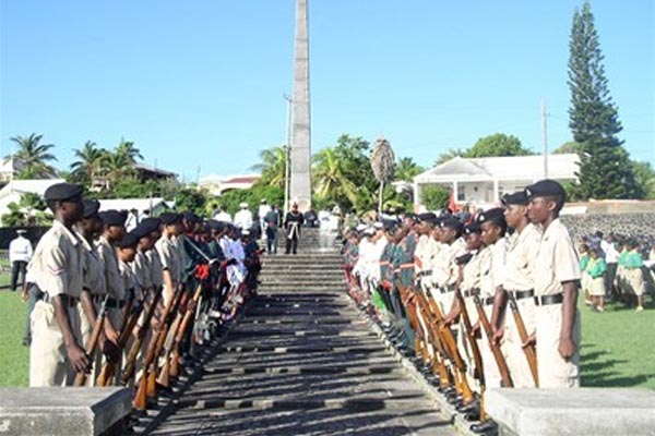 St. Kitts and Nevis to remember dead of two World Wars on Sunday