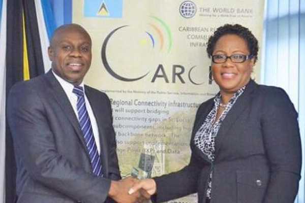 Digital opportunities open as St Lucia launches internet exchange point
