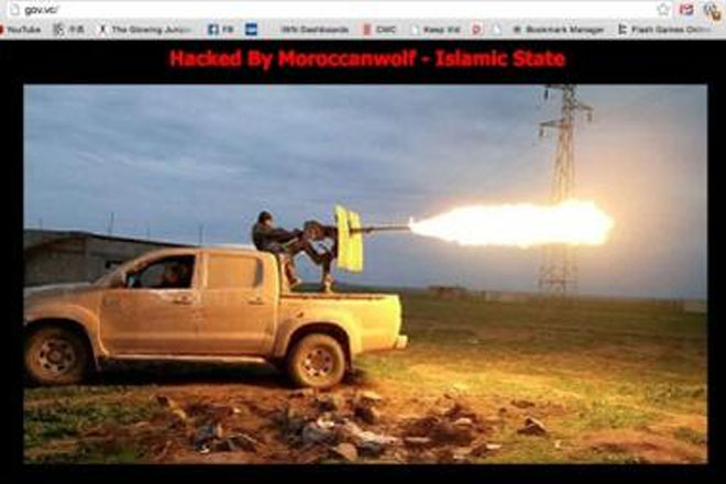 St Vincent Government website hacked by ISIS