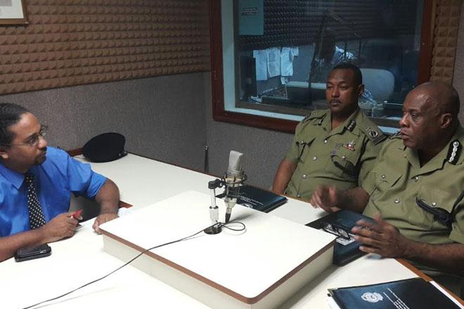 Police Address Crime Situation