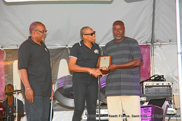 Officials Honour Carnival Icons