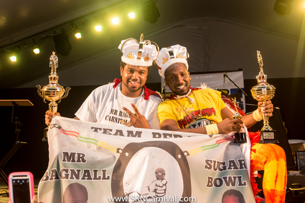 Mr. Bagnall and Sugar Bowl take the TDC Groovy and the ZIZ Power Soca Monarch crowns