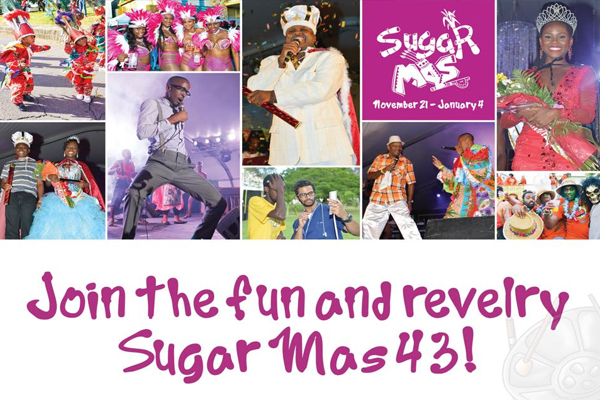 Sugar Mas 43 Continues on Monday Evening