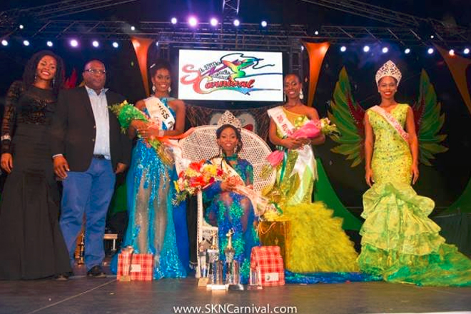 Orngel Erkstine is the 2015-2016 National Carnival Queen