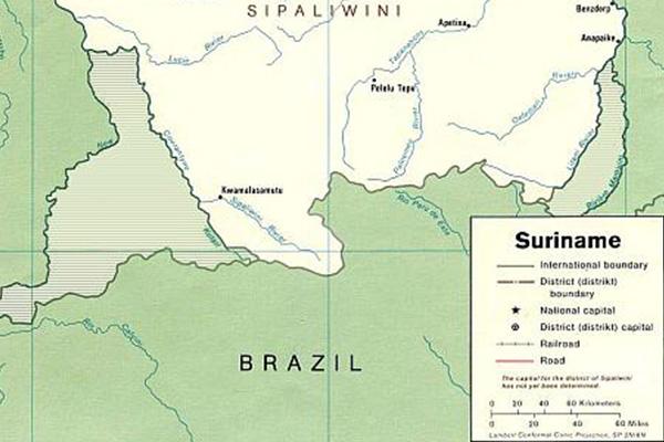 Guyana-Suriname territorial dispute flares up