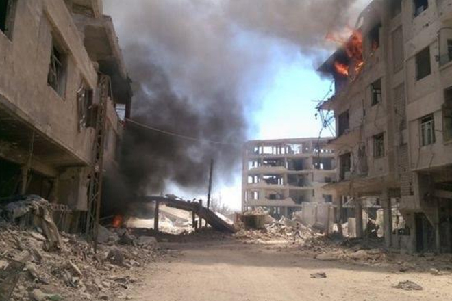Syria Daraya: Deal reached to evacuate besieged town