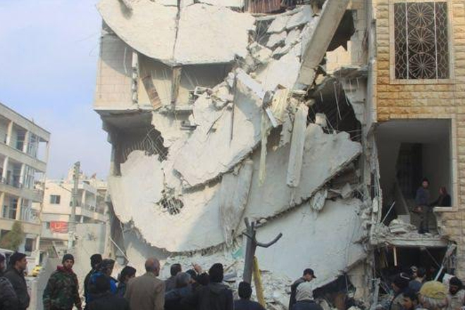 Syria conflict: Russia air strikes 'killed 200 civilians'