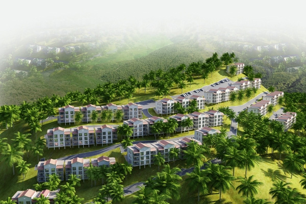 US$40 million 246-room hotel/condo project begins at Pirate's Nest in Frigate Bay