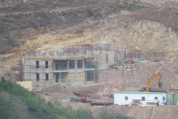 Construction of US$40 million 246-room T-Loft hotel/condo Pirate's Nest underway