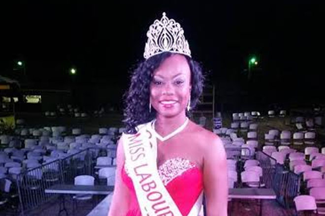 Tawanna Collins is Miss Labour 2015