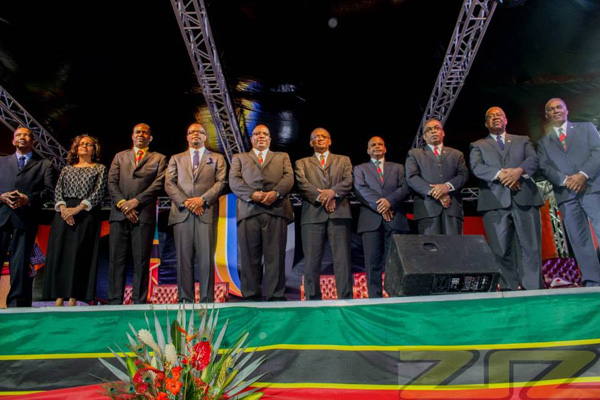 Full Cabinet of Ministers Sworn-in