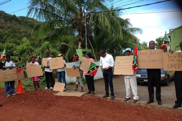 """Picketers in St. Vincent standing with Dr. Harris """"were clueless"""""""
