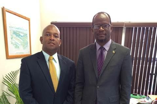 New OAS Representatives calls on Foreign Minister Nisbett