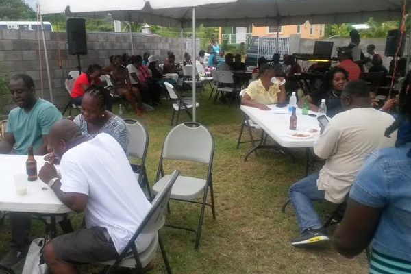 Dr. Terrance Drew hosts appreciation get-together at his home