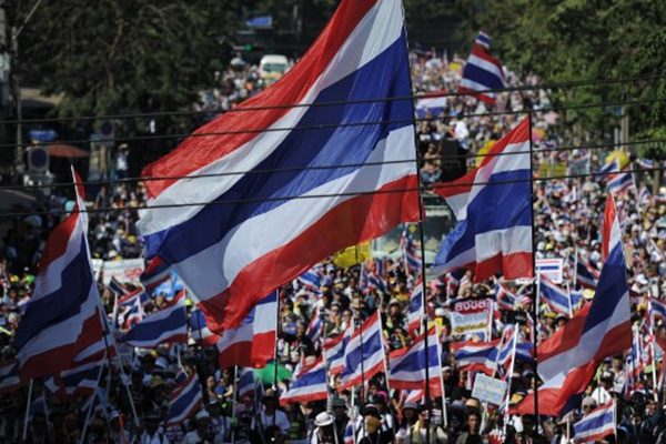 Thailand anti-government protesters continue effort to 'shut down' Bangkok