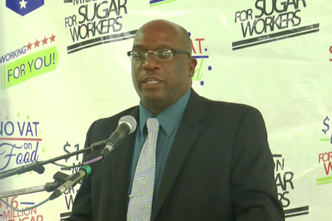 Finance Minister Harris updates Nation on status of Liveable Wage promised by Team Unity