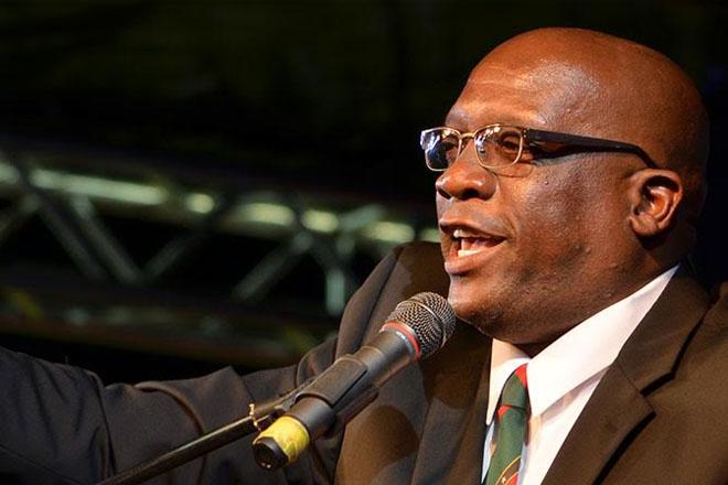 Prime Minister Harris praises sponsors of St. Kitts and Nevis Patriots Team