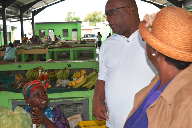 Public market – in light of impact on farmers and vendors – continues to figure prominently in Team Unity's agenda