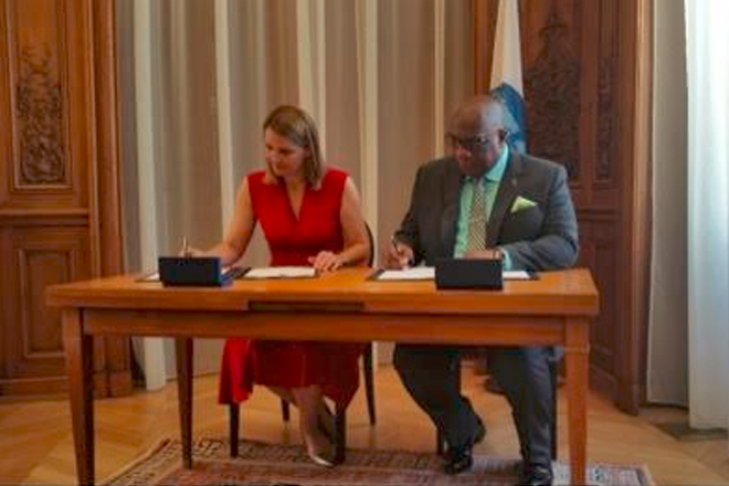 St. Kitts and Nevis has signed the Multilateral Convention on Mutual Administrative Assistance in Tax Matters