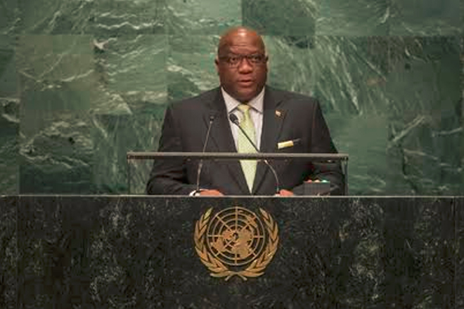 Prime Minister Harris addresses UN General Assembly
