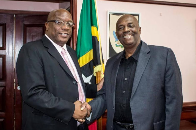 St. Vincent Opposition Leader hails PM Harris a champion for Democracy
