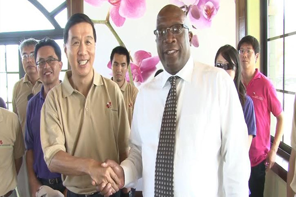Prime Minister Harris pledges support for Taiwan