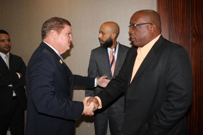 St. Kitts-Nevis PM Harris meets with Aruban Counterpart