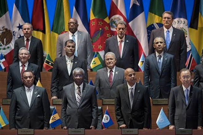 Prime Minister Dr. The Hon. Timothy Harris Part Of Historic Summit Of The Americas