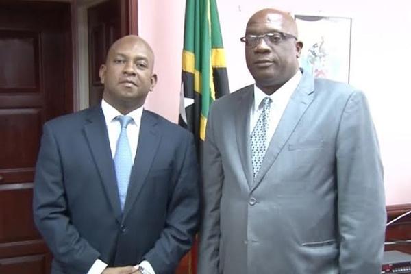 OAS representative pays courtesy call on PM Harris