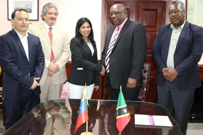 PM Harris meets Venezuelan team to discuss key matters