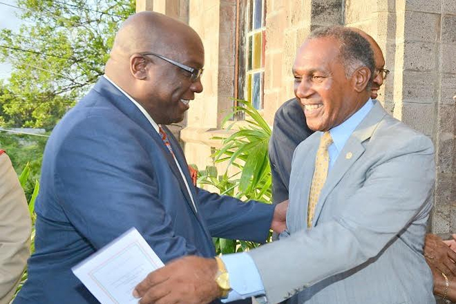 Premier Amory lauds Prime Minister Harris as a strong and competent leader